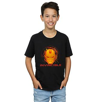 Marvel Boys Avengers Iron Man Invincible T-Shirt