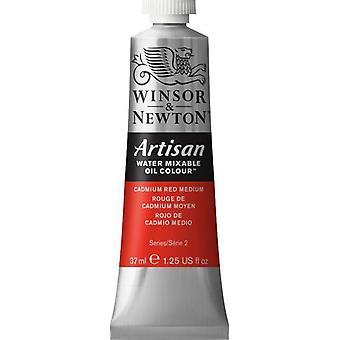 Winsor & Newton Artisan vatten blandbart olja färg 37ml (099 kadmium röd Medium S2)