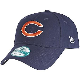 Nouvelle ère 9Forty Cap - marine de la Ligue NFL Chicago Bears