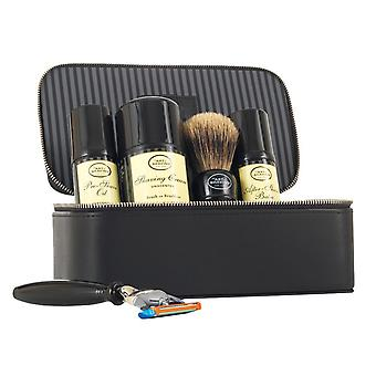 The Art of Shaving Travel Kit Unscented 5pc Set With Leather Case