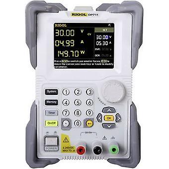 Rigol DP711 Bench PSU (Voltages regelbaar) 0 - 30 V 0 - 5 A 150 W RS232 afstandsbediening bestuurd, OVP, programmeerbare nr. van uitgangen 1 x