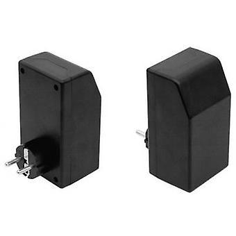 Connector housing 121 x 66 x 55 Plastic Black Strapubox SG 1021 1 pc(s)