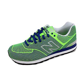 New Balance 574 Woven Green/Blue ML574GB