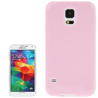 Schutzhülle TPU Case für Handy Samsung Galaxy S5 / S5 Neo Rosa