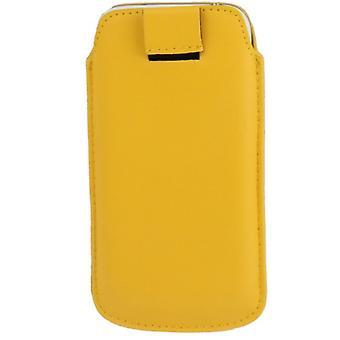 Handyhülle Tasche Slide Hülle Gelb