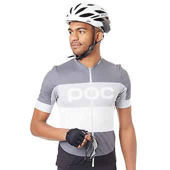 POC Steel Multi Grey 2018 Essential Short Sleeved Cycling Jersey