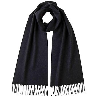 Johnstons of Elgin Plain Cashmere Scarf - Charcoal