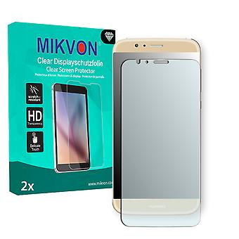 Huawei G8 Screen Protector - Mikvon Clear (Retail Package with accessories) (intentionally smaller than the display due to its curved surface)