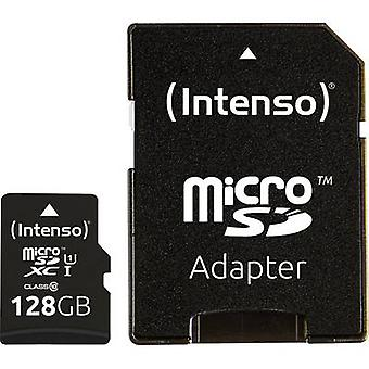 Intenso Premium microSDXC card 128 GB Class 10, UHS-I incl. SD adapter