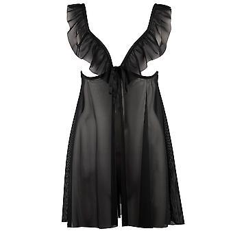 オーバード P043 女子 Boite、Desir 黒ベビードール セット
