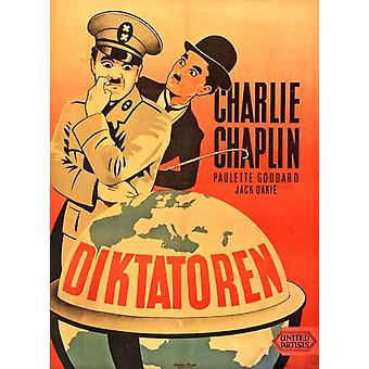 The Great Dictator Movie Poster (11 x 17)