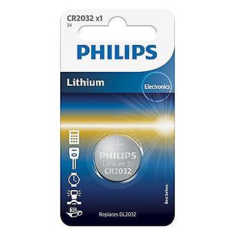 Philips CR2032 Lithium Batterij 3V
