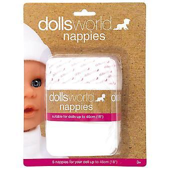 Dolls World Nappy Pack