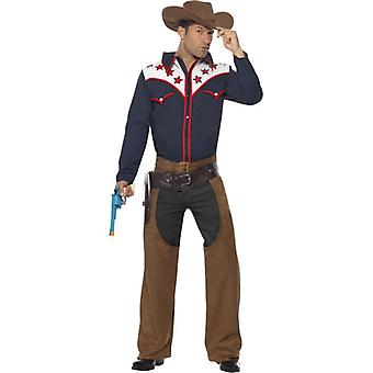 Rodeo Cowboy Costume, Chest 38
