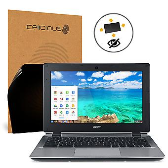 Celicious Privacy Plus 4-Way Anti-Spy Filter Screen Protector Film Compatible with Acer Chromebook 11 C730