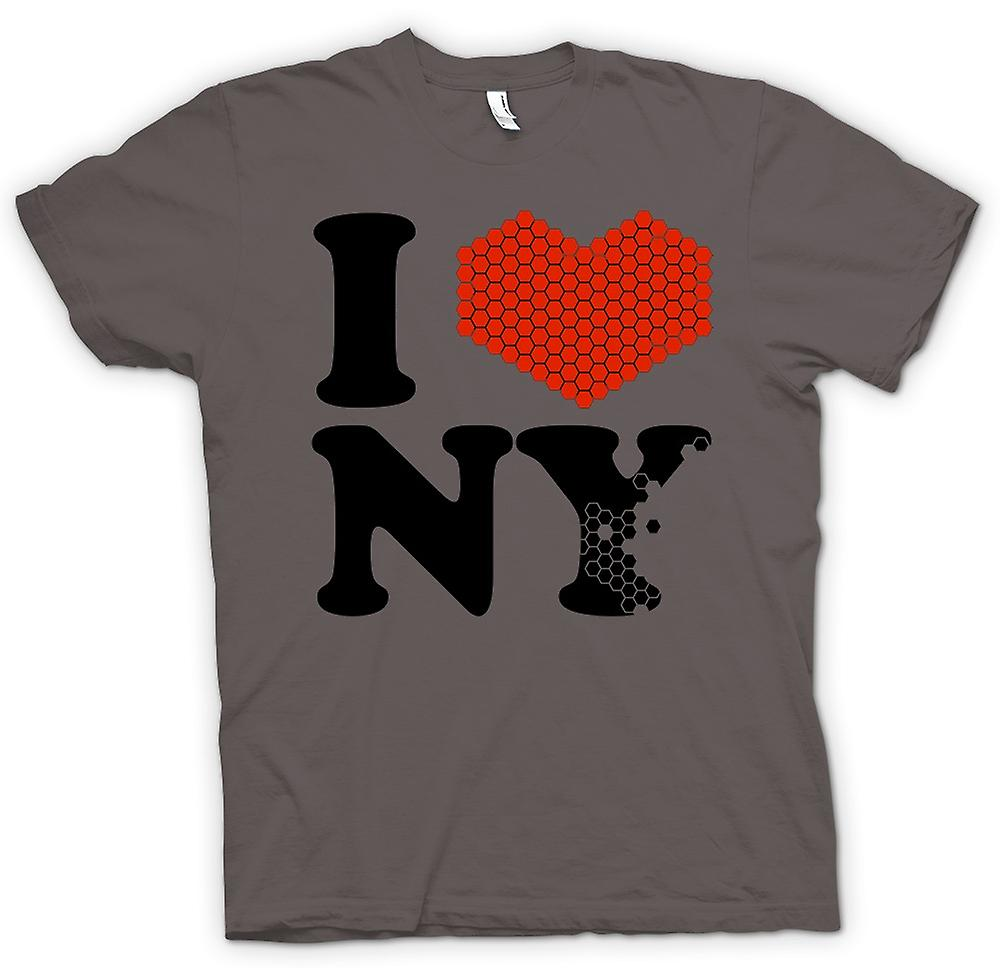 Femmes T-shirt - I Love New York Heart - NY