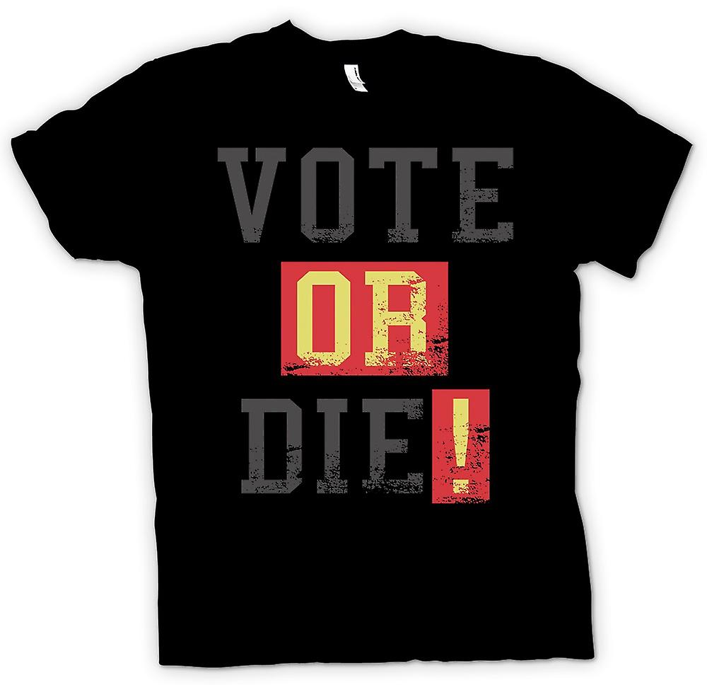 Kids T-shirt - Vote Or Die - Funny South Park Inspired