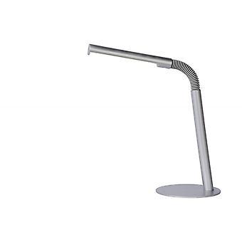 Lucide Gilly moderne Metall graue Schreibtischlampe