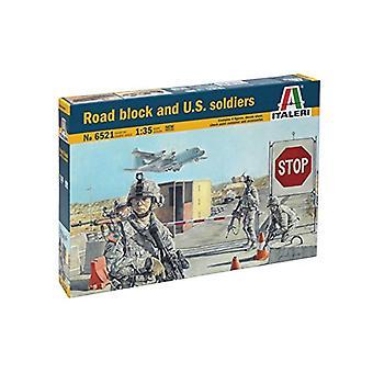 Italeri 6521 US soldats Lock Street Figure