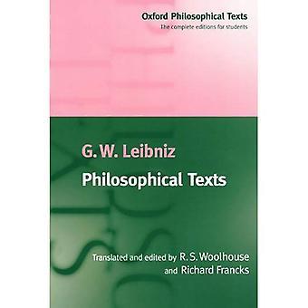 Textes philosophiques (Oxford des textes philosophiques)