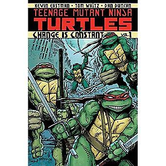 Teenage Mutant Ninja Turtles tome 1: Le changement est Constant