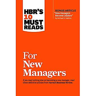 HBR's 10 Must Reads for New Managers (with bonus article