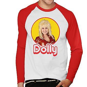 Dolly Parton Retro Pop Icon Men's Baseball Long Sleeved T-Shirt