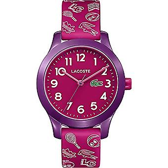 Lacoste Quartz Analog Unisex Kids Silicone wrist watch 2030012