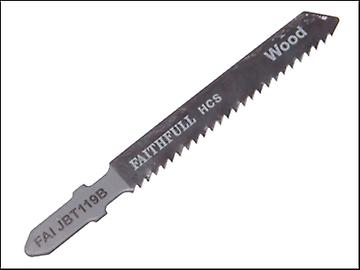 Faithfull Jigsaw Blades Wood T119B (Pack of 5)