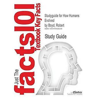 StudyGuide für Menschen wie von Boyd Robert ISBN 9780393912272 durch Cram101 Lehrbuch Bewertungen entwickelt