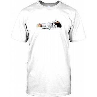 Black Sheep Funny Joke Mens T Shirt