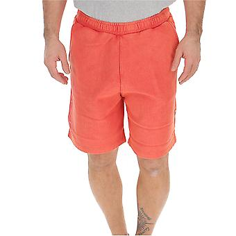Heron Preston Red Cotton Shorts