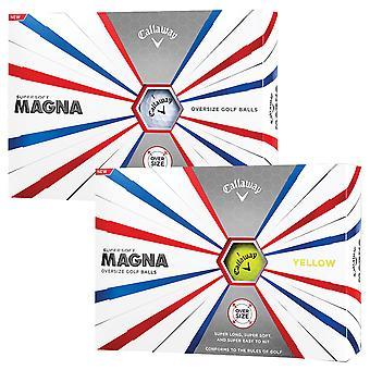 Callaway Golf unisexe 2019 Super Soft Magna balles de golf