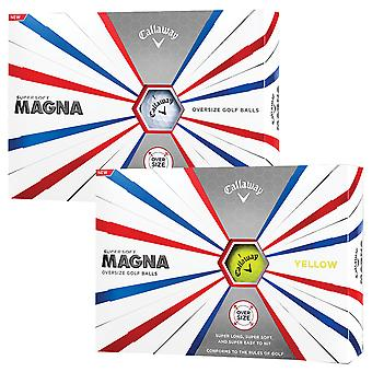 Callaway Golf Unisex 2019 super zachte Magna golfballen