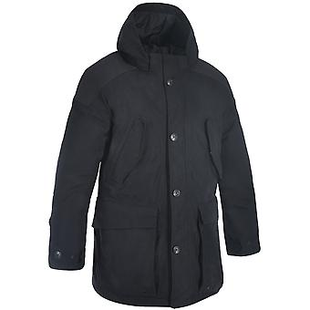 Oxford Black Parka giubbotto moto impermeabile