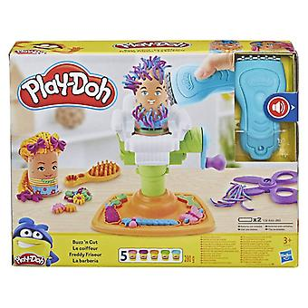 Play Doh Buzz and Cut Fuzzy Pumper Barber Shop Toy