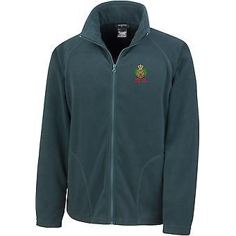 Royal Engineers eerst in laatste-licentie Britse leger geborduurd lichtgewicht Microfleece jas