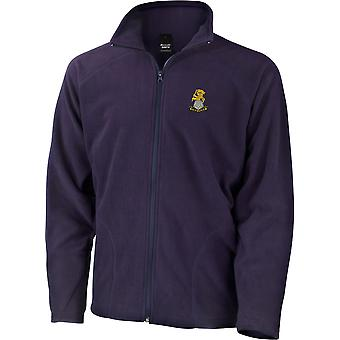 Yorkshire Regiment - Licensed British Army Embroidered Lightweight Microfleece Jacket