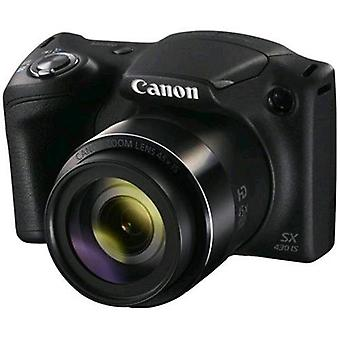 Canon powershot sx430 is 20 mpx optical zoom 45x movies full hd usb  color black