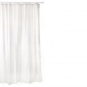 Tatay Polyester shower curtain 140 X 200 White (DIY , Hardware)