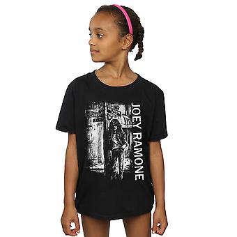 Joey Ramone Girls Street Sign Camiseta