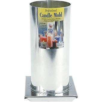 Professional Candle Mold Metal Cylinder 3