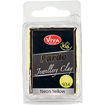 PARDO Jewelry Clay 56g-Neon Yellow PARDO-93460