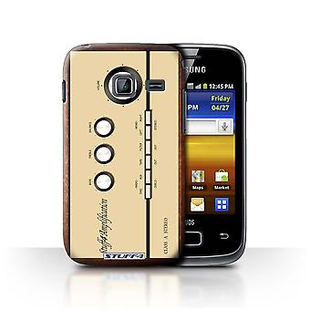 STUFF4 Case/Cover for Samsung Galaxy Y Duos/S6102/Amp/Amplifier/Retro Tech