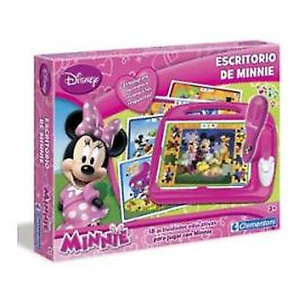 Clementoni Minnie-Mickey Desk (Toys , Educative And Creative , Electronics)