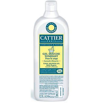 Cattier Toning Shower Gel 1 Liter