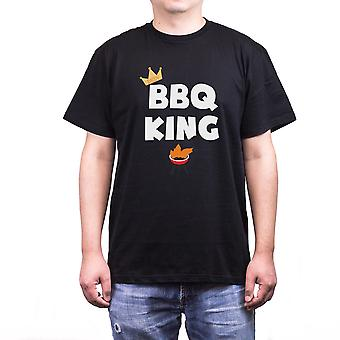 Bbq King Funny Crewneck T-Shirt For Dad Best Gift for Father's Day Or Birthday
