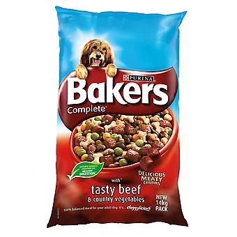 Bakers Complete Adult Beef & Veg 14kg