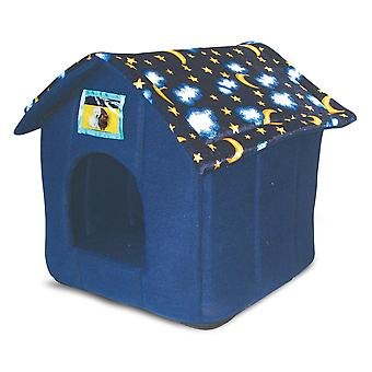 Just 4 Animaux House Bed Moon & Stars