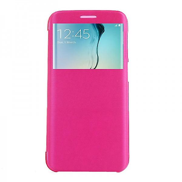Smart cover window Pink for Samsung Galaxy S6 edge G925 G925F